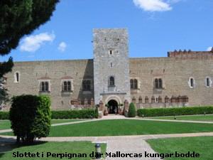 Slottet i Perpignan