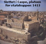 Slottet i Caspe