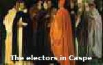 The electors in Caspe