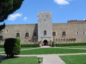 The Palace in Perpignan